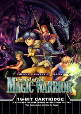 Brave Battle Saga - Legend of the Magic Warrior